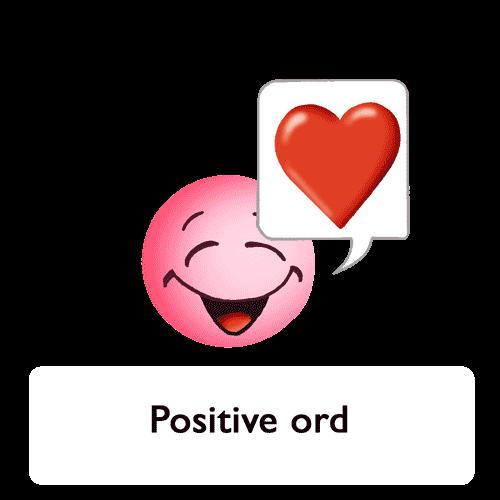 Emoji - Positive ord