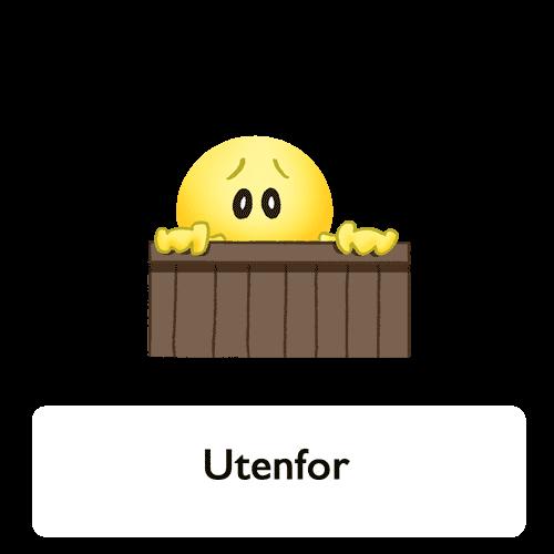 Emoji - Utenfor