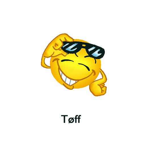 Emoji - Tøff