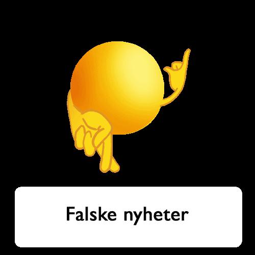 Emoji - falske nyheter