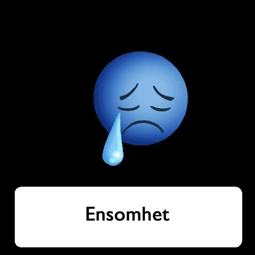 Emoji - ensomhet