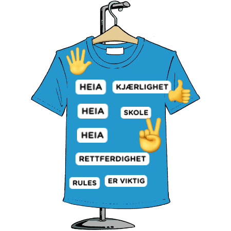 Fluktrommet t shirt